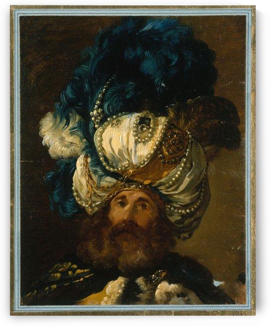 Ambassadeur du Mogol by Joseph-Marie Vien