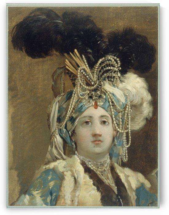 Sultane reine by Joseph-Marie Vien