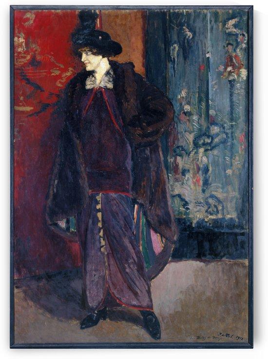 Portrait de Daisy de Broglie by Jacques-Émile Blanche