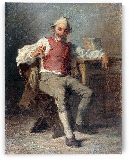L homme a la pipe by Auguste Dutuit