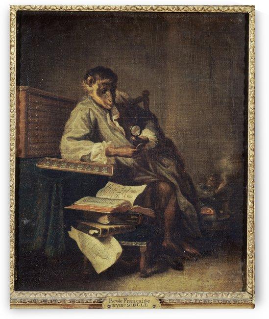 Le singe antiquaire by Anonyme