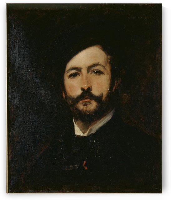 Portrait du baron Antoine d Ezpeleta by Carolus-Duran