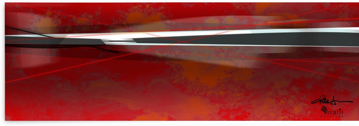 Zest & Zen in Red 3x1 by Veratis Editions