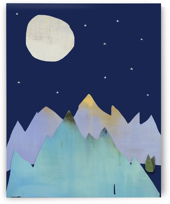 Moon and Mountains by Jacquie Gouveia