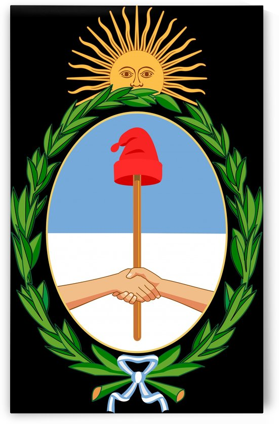 Argentina Coat of Arms by Fun With Flags