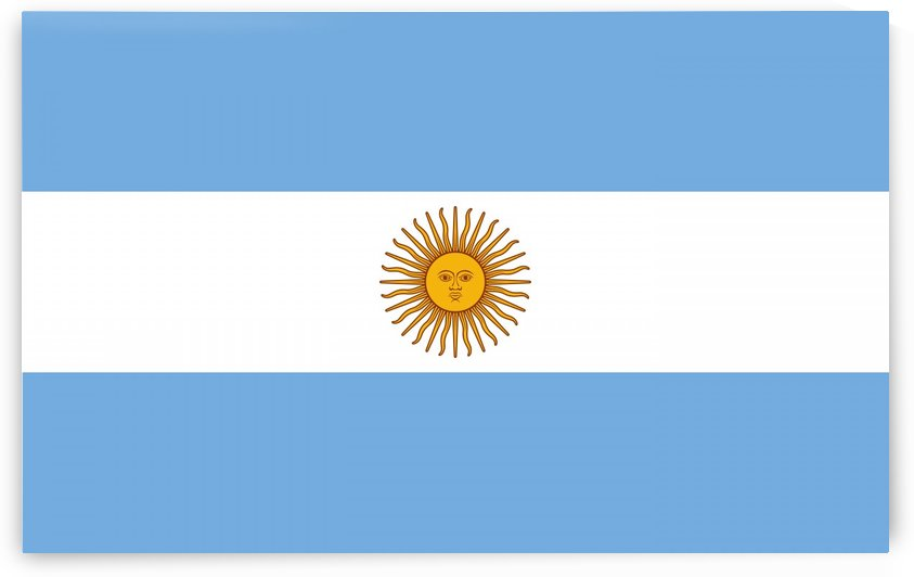 Flag of Argentina by Fun With Flags