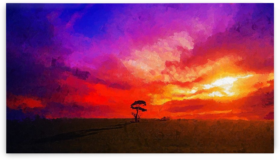 Last Sunset by canvasfine