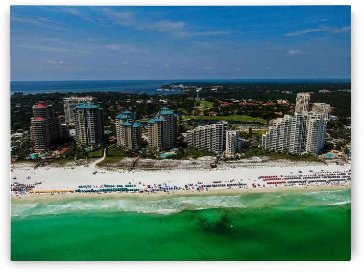 Sandestin Towers by Destin30A Drone