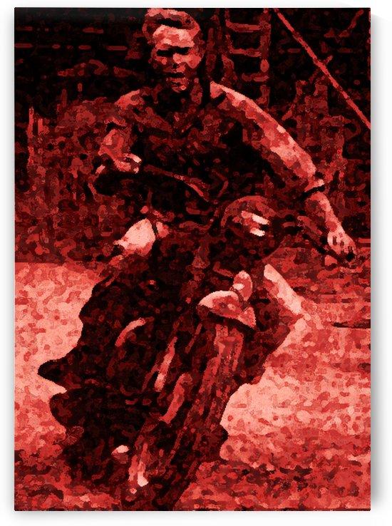 steve McQueen1 fresco by Skinuporshutup