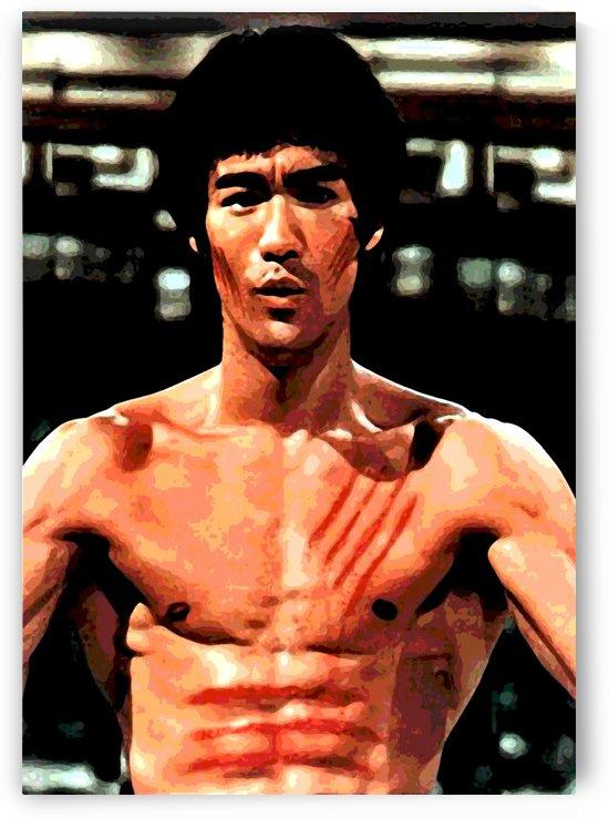 Bruce Lee by Skinuporshutup