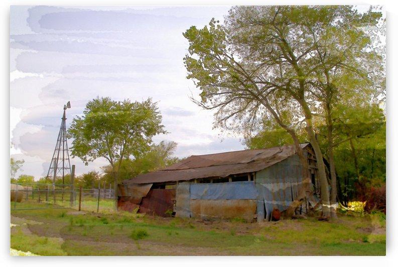 Metal Barn by Wynne Mill Photography