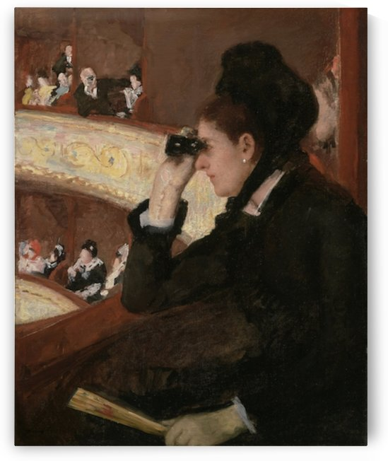 Cassatt - In the Loge by Cassatt
