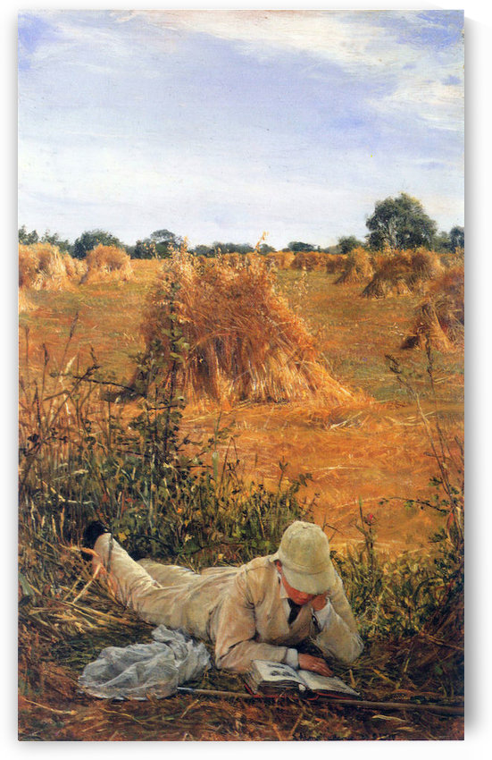 94 degrees in the shade by Alma-Tadema by Alma-Tadema