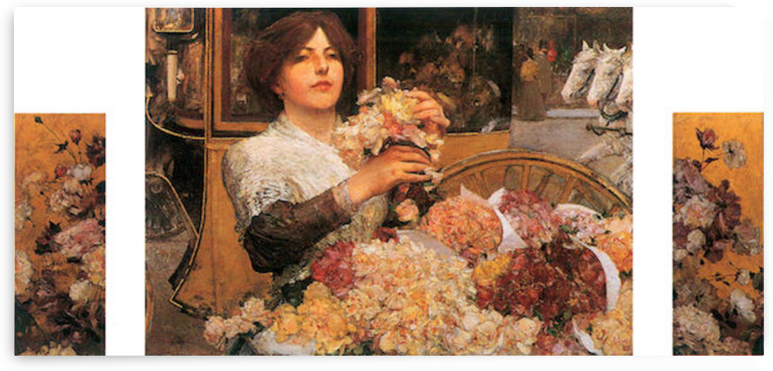 The Rose girls by Hassam by Hassam