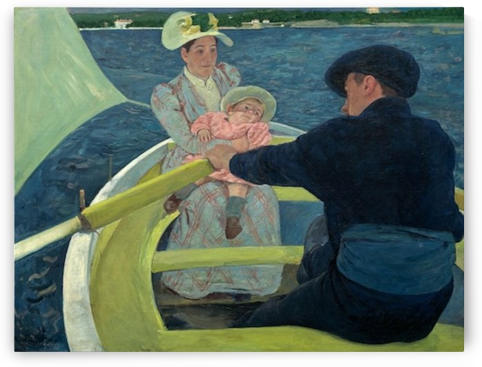 Cassatt - The Boating Party by Cassatt