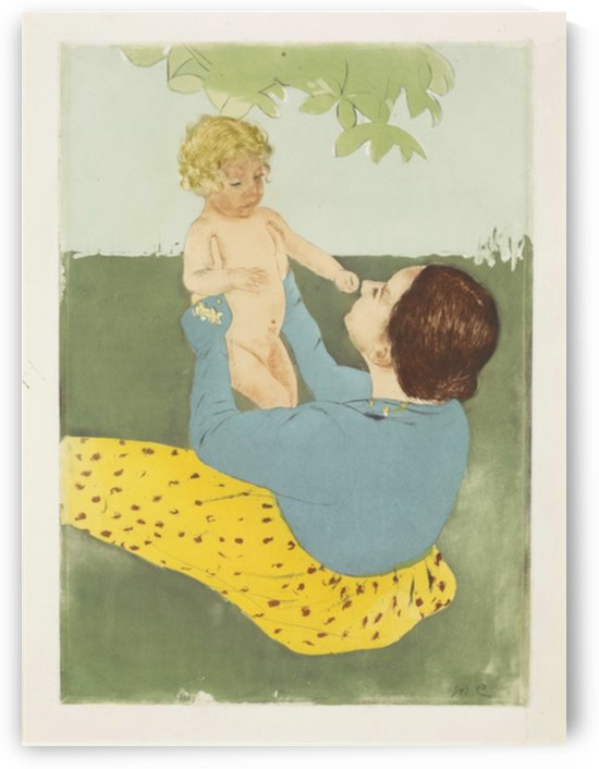 Cassatt - Under the Chestnut Tree by Cassatt