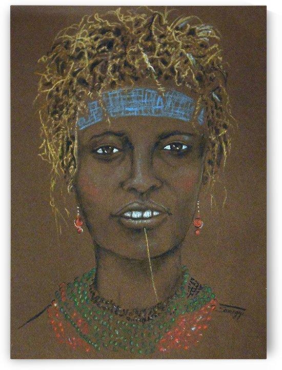 Dassanech Woman--Ethiopia by Jayne Somogy