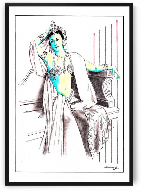 Deadly Diva:  Mata Hari by Jayne Somogy