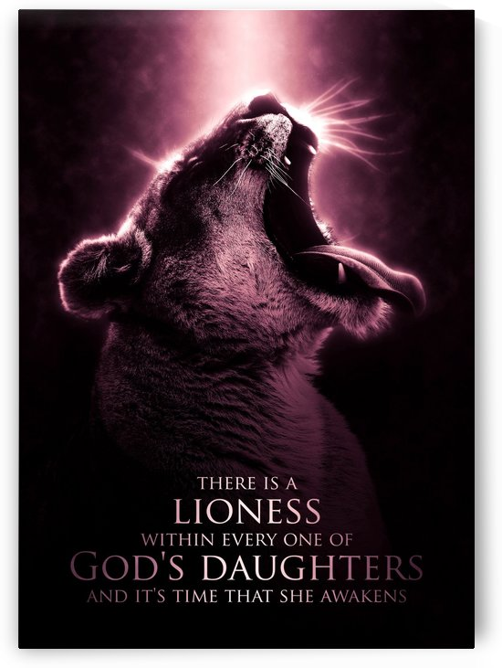 The Lioness of God - A Beastly Beauty by ABConcepts