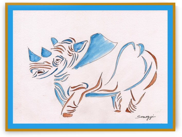 Do Rhinos Come in Blue? by Jayne Somogy