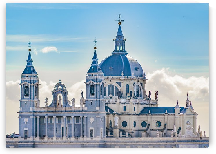 Santa Maria la Real de la Almudena Cathedral, Madrid, Spain by Daniel Ferreia Leites Ciccarino