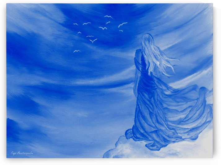 Angelic Spirit by Faye Anastasopoulou
