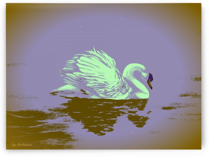 Dream Swan by Faye Anastasopoulou