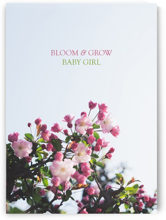 Bloom and Grow Baby Girl by ABConcepts