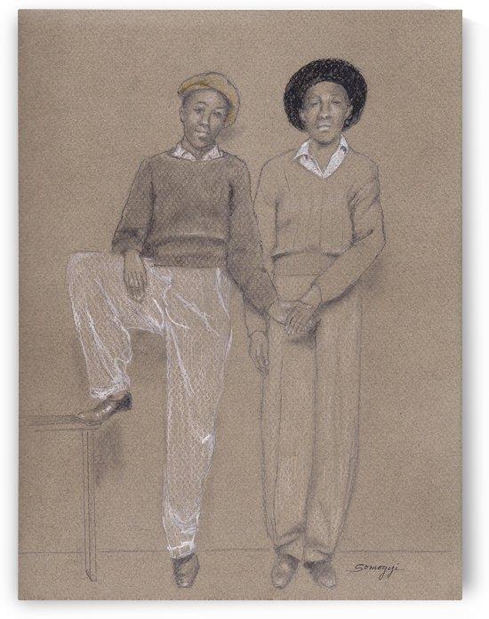 Friends Memphis 1942 by Jayne Somogy