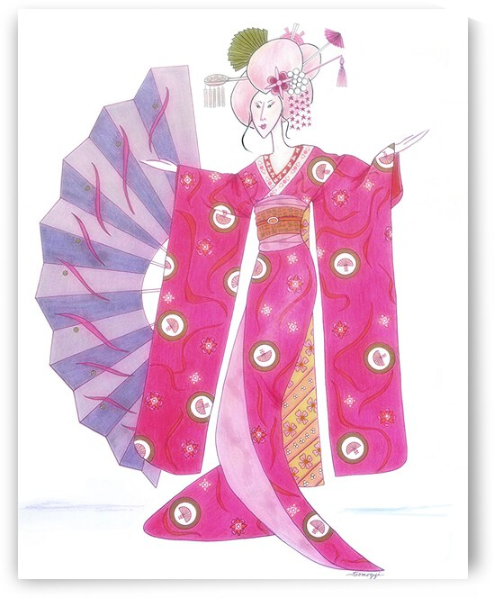 Geisha Barbie by Jayne Somogy
