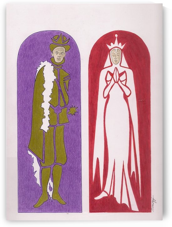 Gothic King & Queen by Jayne Somogy
