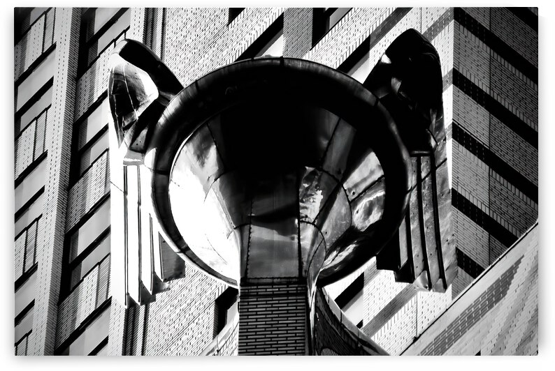 Chrysler Building Hood Ornament ... NYC by Fred J Bivetto