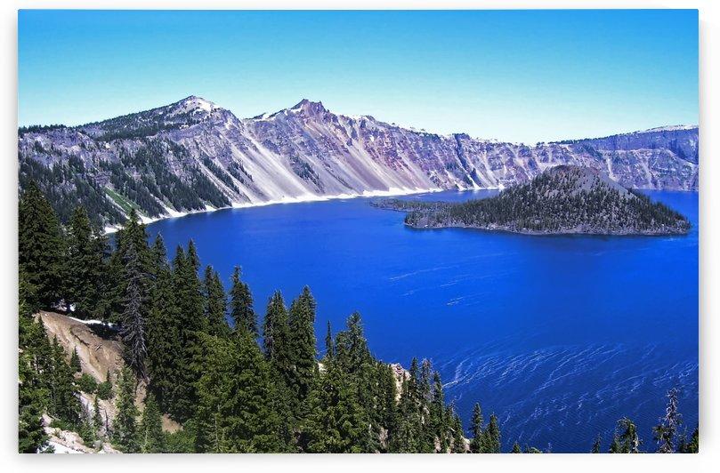 Crater Lake Oregon by Aurelia Schanzenbacher Sisters Fine Arts