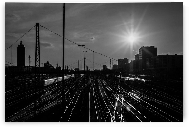 German Rails by Artwork View - Amazing Photography