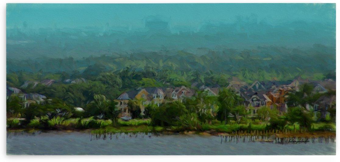 South Carolina Bay  by Aurelia Schanzenbacher Sisters Fine Arts