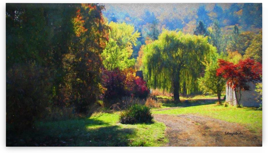 Fall in the Neighborhood by Aurelia Schanzenbacher Sisters Fine Arts