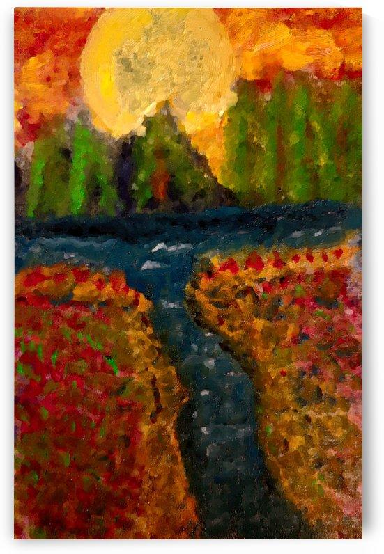 Meadows and Mountains by Aurelia Schanzenbacher Sisters Fine Arts