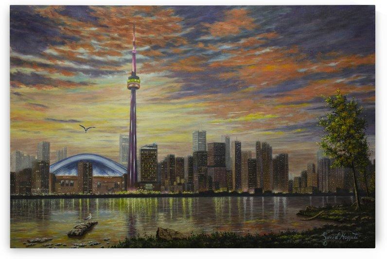 Toronto Skyline by Saeed Hojjati