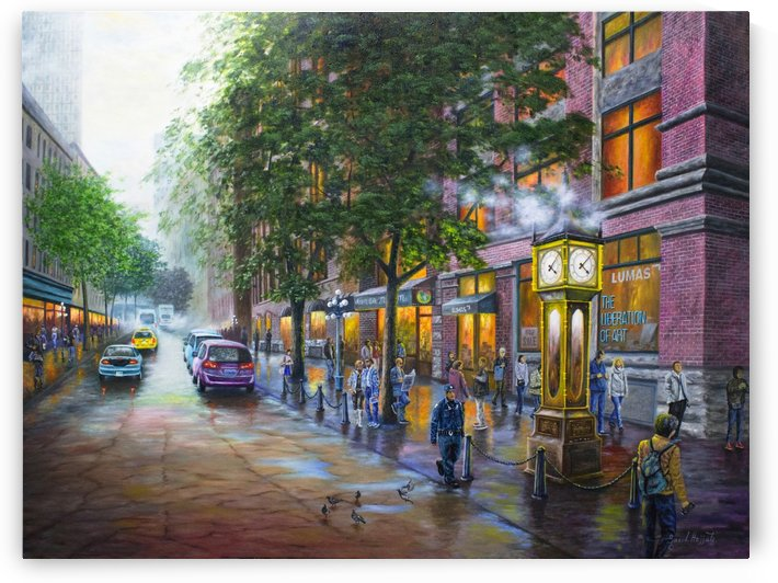 Gastown Vancouver BC Canada by Saeed Hojjati