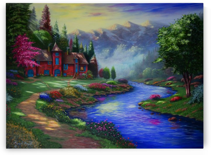 Home Around the Bend by Saeed Hojjati