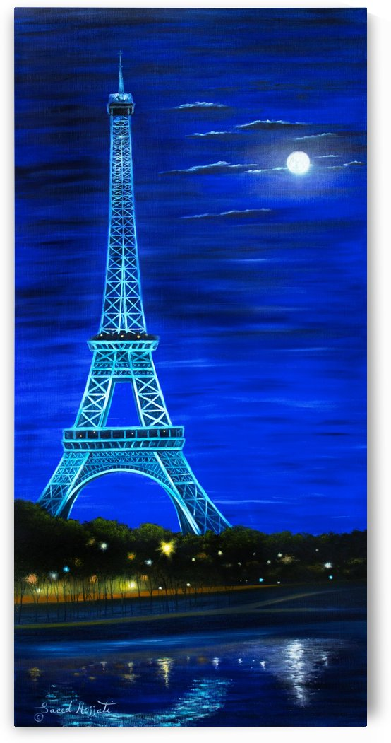 Paris by Moonlight II by Saeed Hojjati