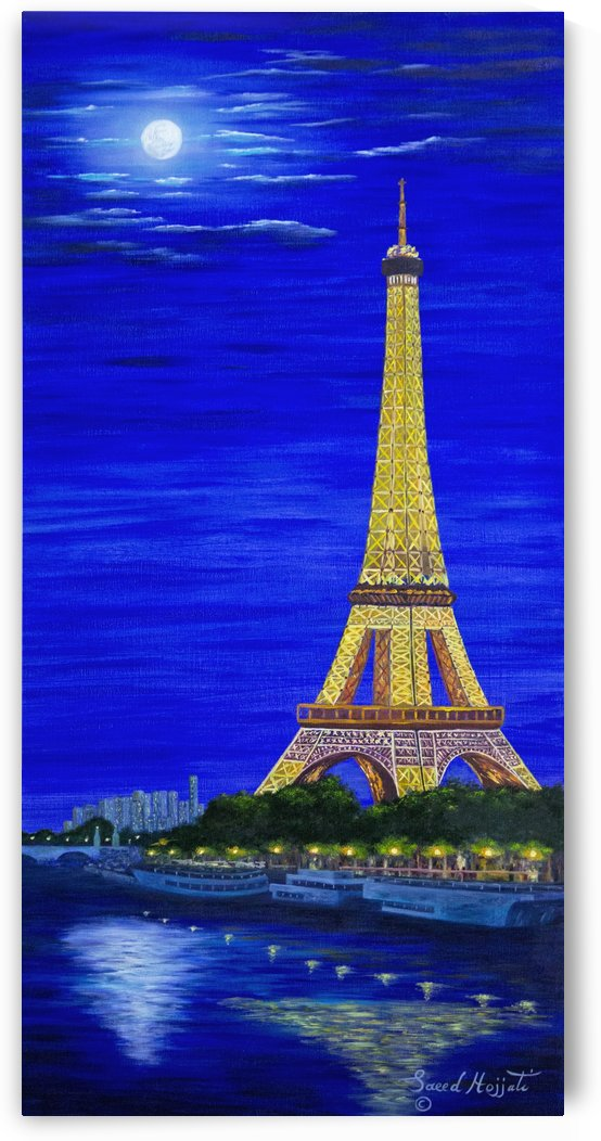Paris by Moonlight by Saeed Hojjati