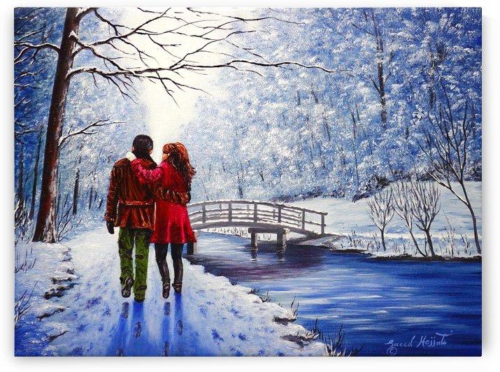 Romantic Interlude by Saeed Hojjati