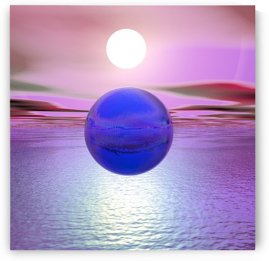 Blue Sunset by Matthew Lacey
