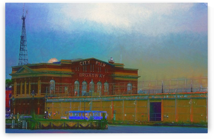 Baltimore Port Maryland Art by Aurelia Schanzenbacher Sisters Fine Arts