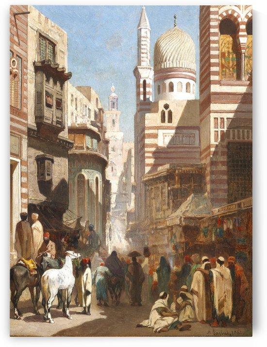 Al-Khudayri street, Cairo by Alberto Pasini