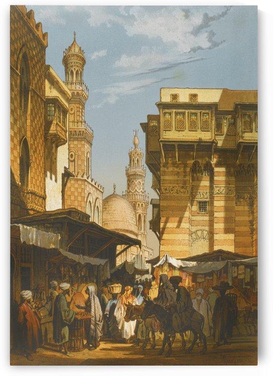 Market in Istanbul by Alberto Pasini