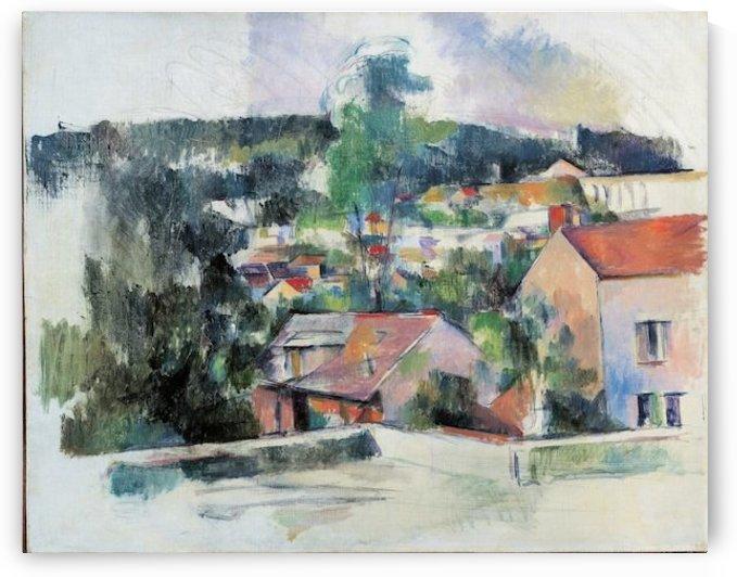 Cezanne - Landscape by Cezanne