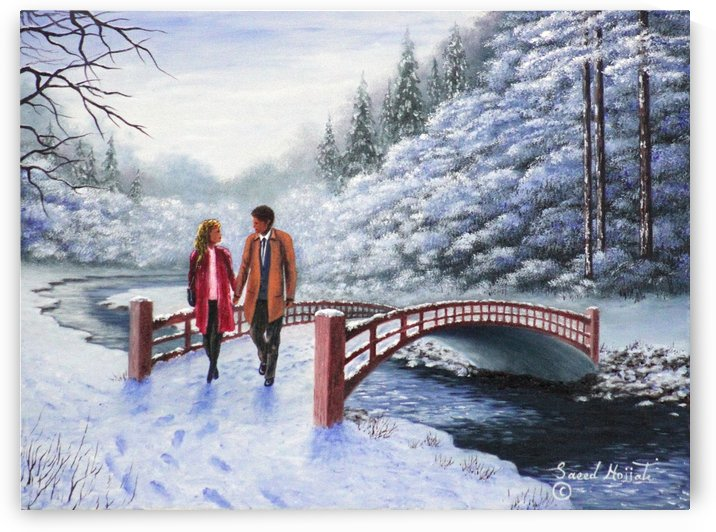 Winter Promenade by Saeed Hojjati