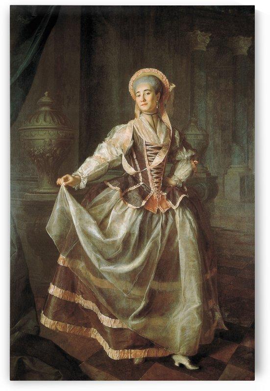 Portrait of A. P. Levshina by Dmitry Levitzky